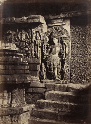 A doorway on the south side of the Great Temple.